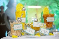 yellow candy barWedding Inspiration, Yellow Candies, New Wedding, Wedding Candies Tables, Candy Bars, Yellow Wedding, S'Mores Bar, Wedding Candies Buffets, Candies Bar