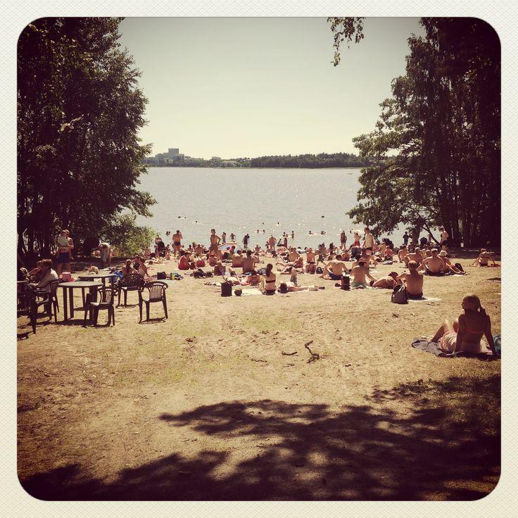 Munkkiniemi beach