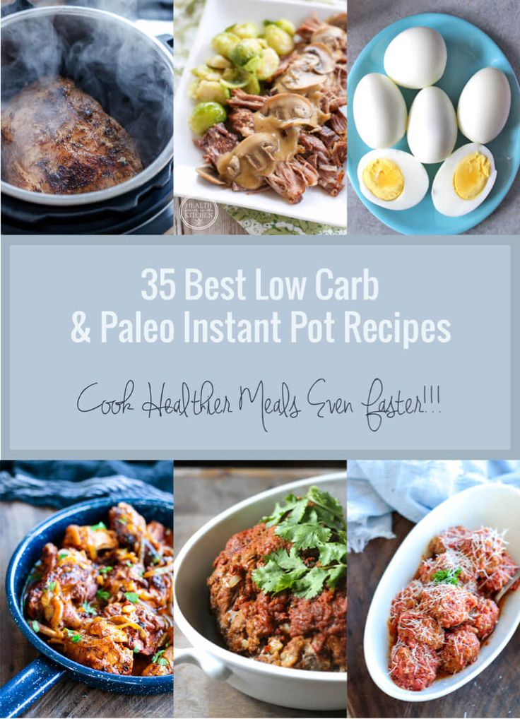 A delicious collection of low carb and Paleo Instant Pot recipes that the entire family will love!       Instant Pots are all the rage these days and for good reason – it's one of the most useful small kitchen appliances out there!  With so many functions to choose from, you can make almost anything...