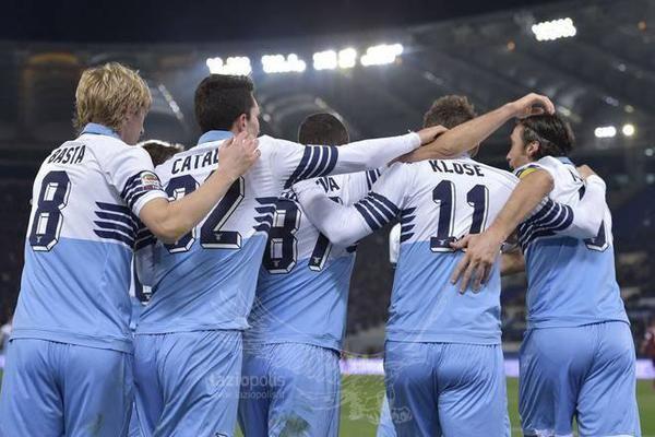 New Lazio uniform. I love it!