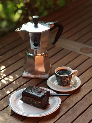 Bialetti Moka - as seen on the board Coffee Culture by linenandlavender.net - http://www.pinterest.com/linenlavender/