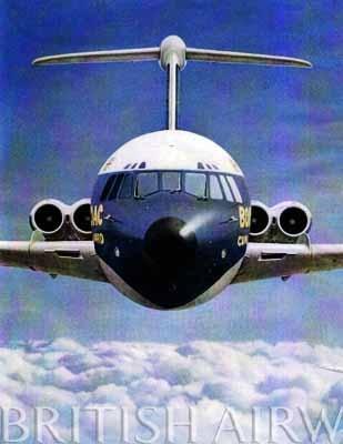 BOAC VC10  A truly beautiful aircraft.