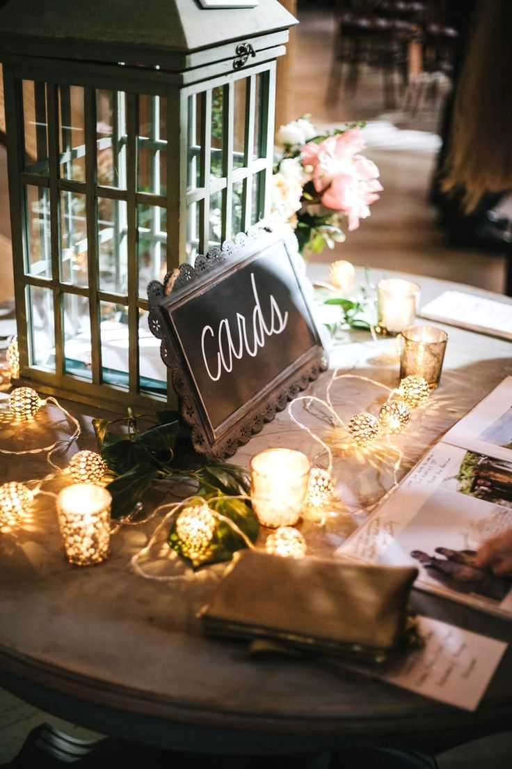 Wedding Rustic Gift Table