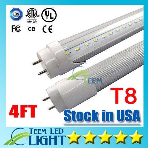 (103.55$)  Buy here - http://aivb4.worlditems.win/all/product.php?id=32794904281 - Stock in USA 4ft 22W T8 Led Tube Light 2400lm AC 85-265V Cool white 60000K Led lighting Fluorescent Tube Lamp 1.2m LED tubes