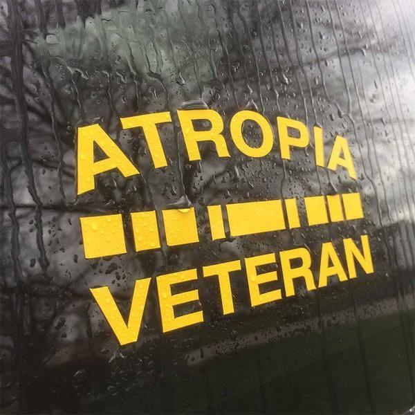 Die Cut Atropia Veteran Decal