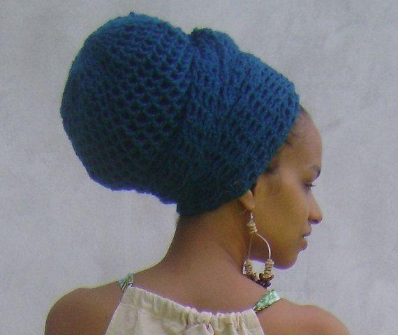ILA Dread Nett Head Wrap Crochet Combo One Colour by iladesigns, $65.00