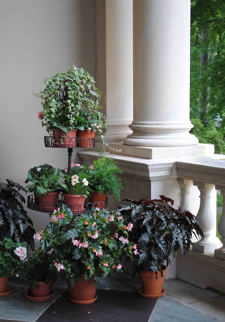 Tone on Tone: Country Life at Winterthur - upper loggia