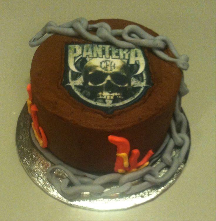 Ozzy Black Sabbath Cake Ideas