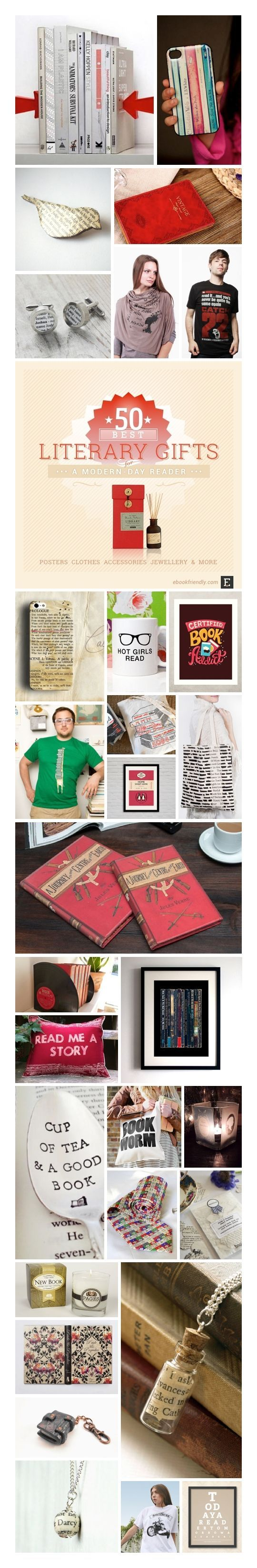 50 best gifts for a modern-day book lover