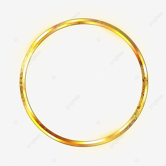 Golden Circle Ouro Brilhante Ponto De Luz Imagem Png E Psd Para Download Gratuito Circle Clipart Golden Circle Gold Clipart