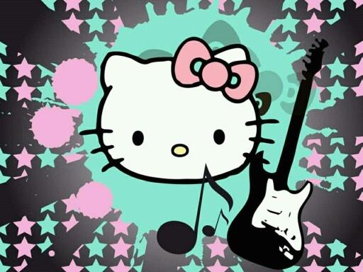 Hello Kitty rockt!
