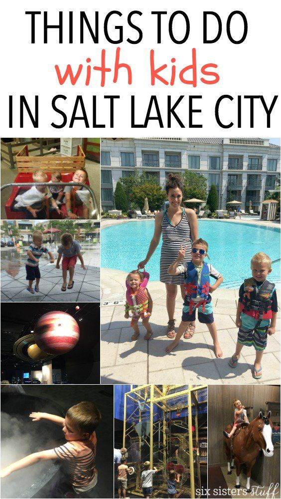 Fun Things To Do With Kids in Salt Lake City, Utah from SixSistersStuff.com