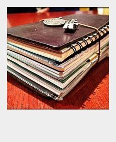 詰め込みすぎておデブさんです | TRAVELER'S notebook みんなの投稿 - MIDORI