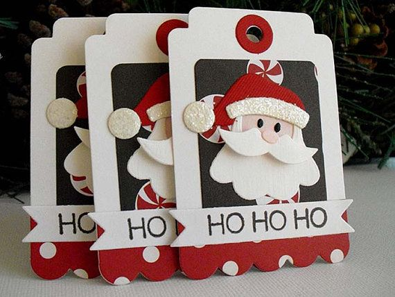 Half+Off+Sale+Ho+Ho+Ho+SANTA+Tags+by+stephaniematsunaka+on+Etsy