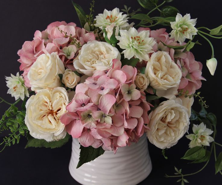 26 best silk flower arrangements and bouquets. images on pinterest