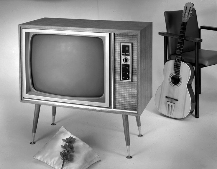 AWA TV set in studio, March 1966. Max Dupain & Associates.