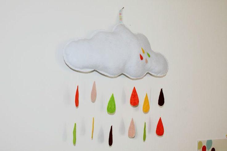 nuvola imbottita in feltro