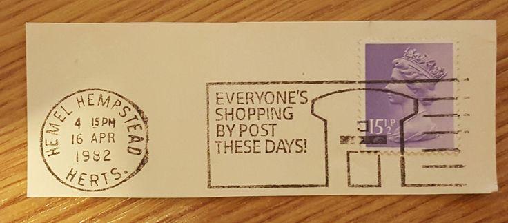 #retweet #postcards GB SG X948 15 1/2p 1982 Machin Stamp Superb Hemel Hempstead CDS Cancel Slogan #RT 50% OFF when you Buy 3+