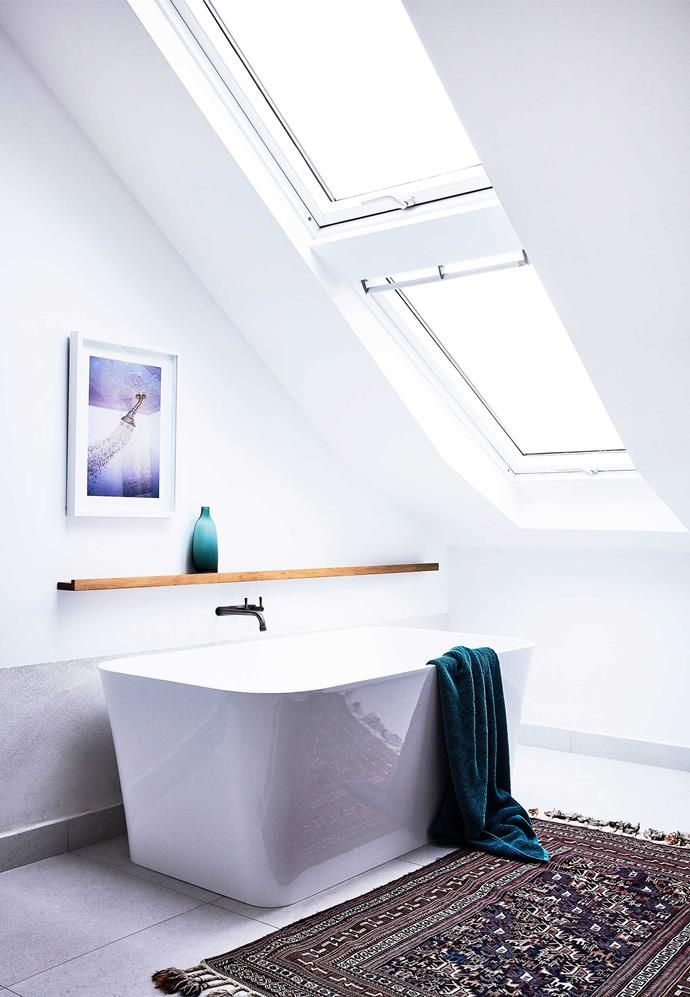 A Northern Beaches Home Renovation With Timeless Style Skylight Design Home Renovation Dream Bathrooms
