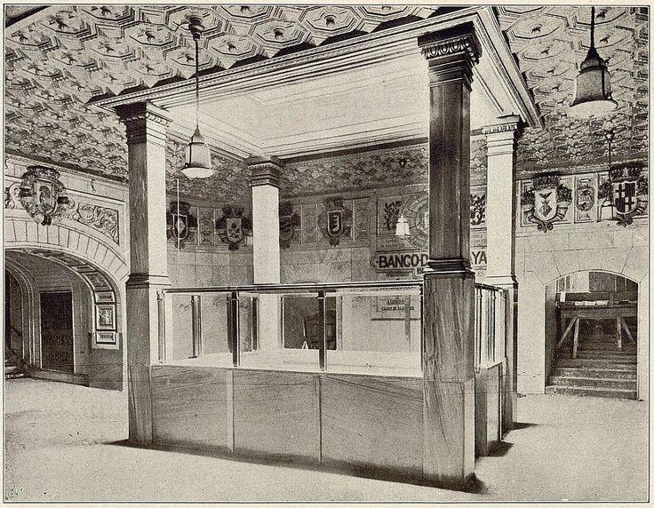 Baños Estilo Ajedrez:Metro Madrid 1924