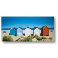 Row Of Beach Huts by Row Of Beach Huts