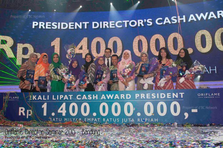 Cash Awards Yang di Berikan Oleh Oriflame