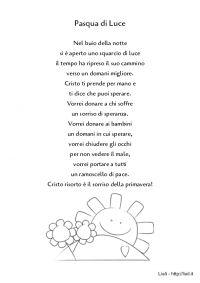 Poesia - Pasqua di Luce