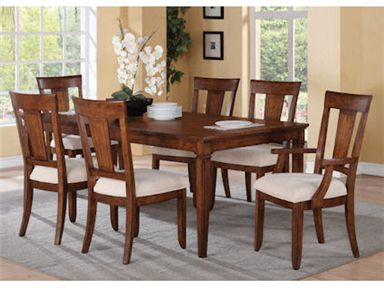 Shop For Flexsteel Rectangular Dining Table, W1572 830, And Other Dining  Room Dining Tables At Home Furnishings Of New Jersey In Paramus, NJ  Princeton, ...