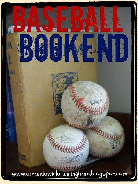Who says you cant decorate for baseball year round? Heres a cool idea for any ro