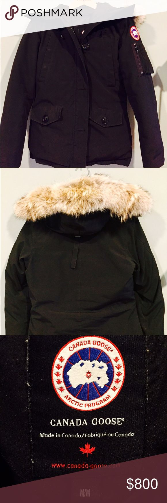 Canada Goose Black Montebello Parka Women's Medium Real Canada Goose Montebello Parka in size Medium. Used. Worn for only one year. In nearly mint condition. Canada Goose Jackets & Coats Puffers
