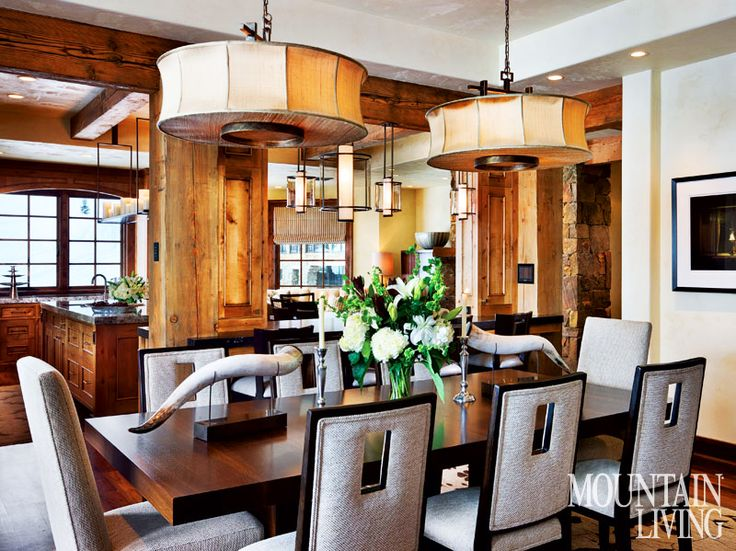 26 best Dining Rooms images on Pinterest | Dining room design ...