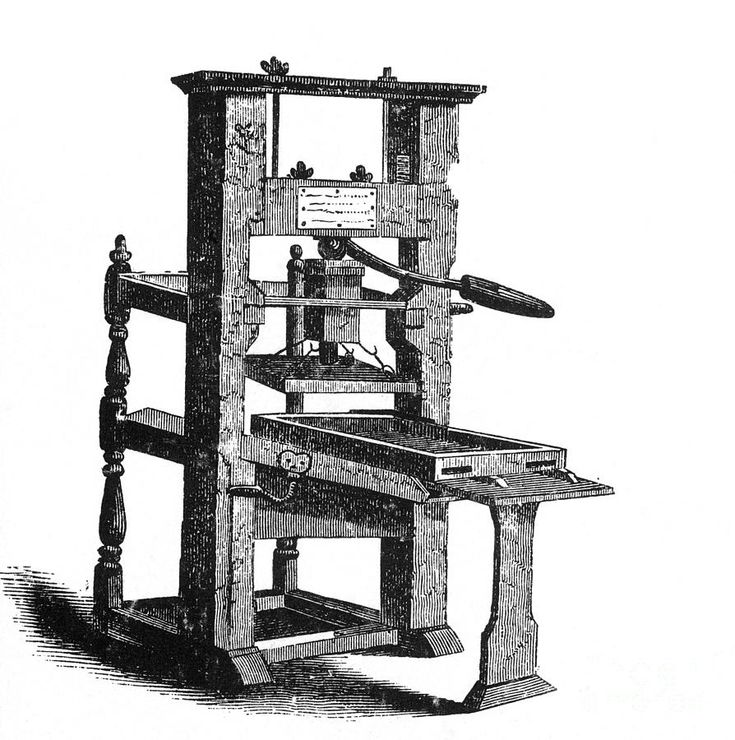 The perfect black had to be achieved for the printing press ink