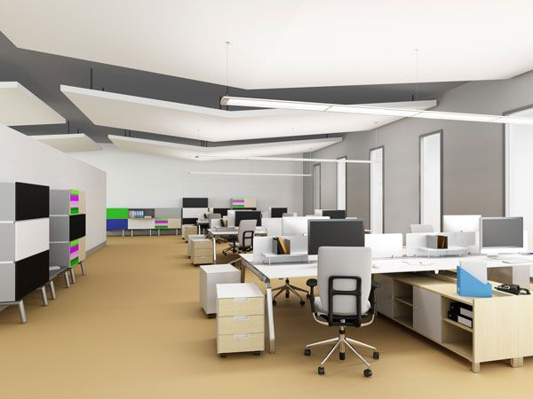 suspended office lighting. Eaton\u0027s Corelite Divide Suspended LED - Open Office Application. Http://www. Lighting