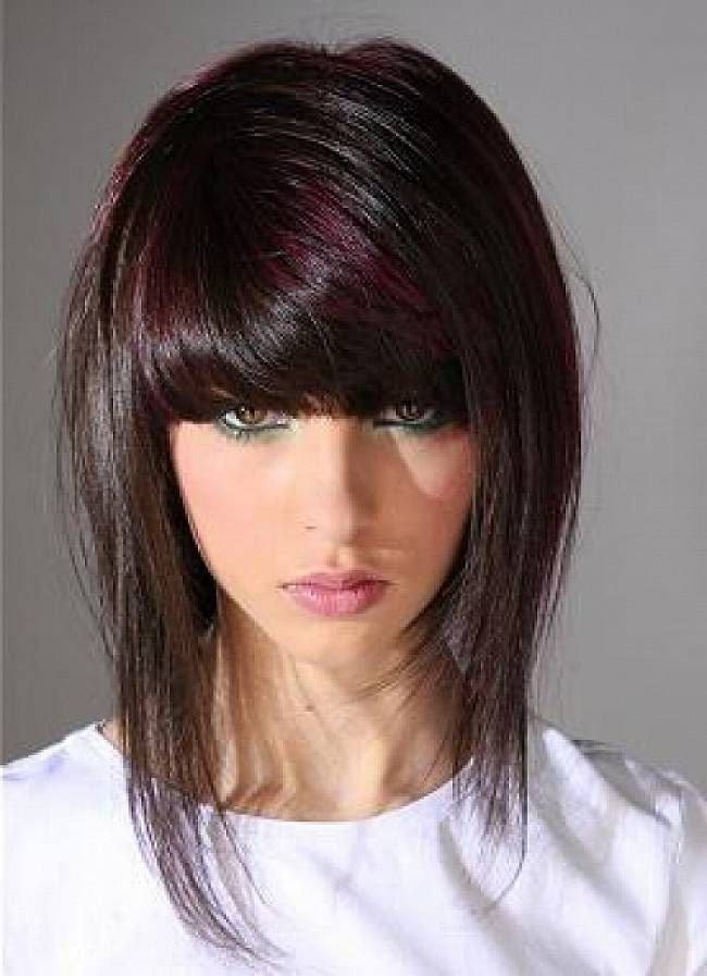 layered edgy medium hairstyles with side bangsedgy haircuts | Fashion and Mode Today