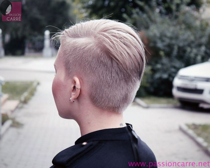 17 best images about short and extreme haircuts for women on pinterest edgy hairstyles beauty - Carre asymetrique court ...