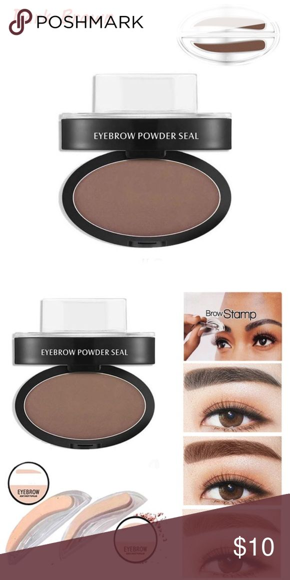 Brow stamp Eyebrow stamp with pressed powder Makeup Eyebrow Filler