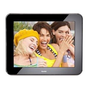 #10: Kodak Pulse 10-Inch Wi-Fi Digital Frame with Custom e-Mail Address for Immediate Sharing.