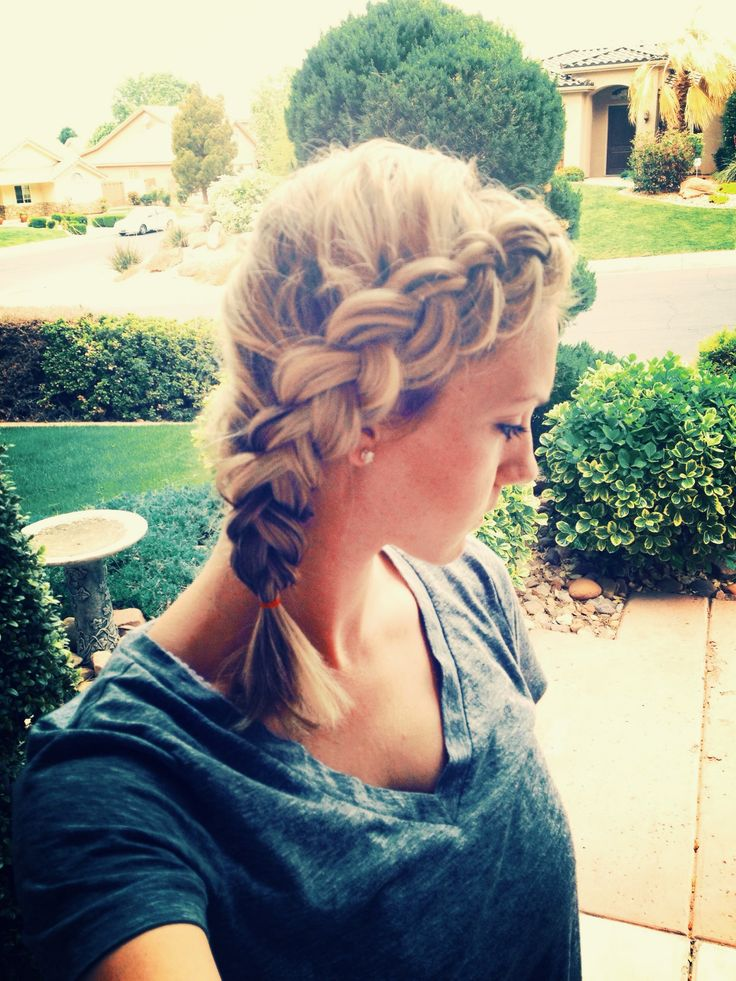 How To Pancaked Dutch Side Braid Can Be Done On Even