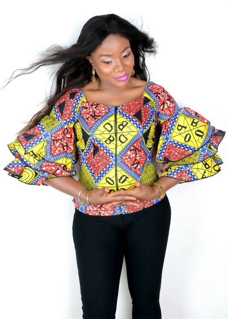 Today's Ankara casual Top