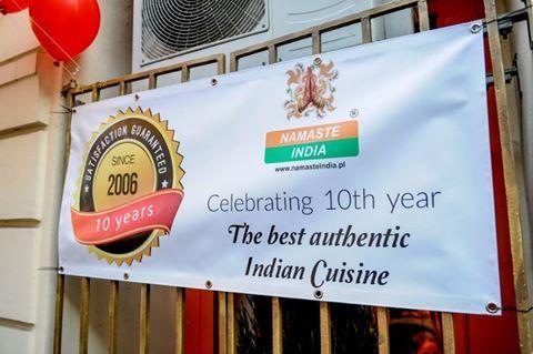 Czy wiecie, że... istniejemy już 10 lat? Bardzo się cieszymy, że możemy częstować Was najlepszymi przysmakami kuchni indyjskiej. :) www.namasteindia.pl