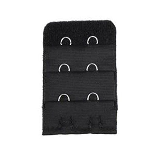 Sanwood 5pcs Women 3 Rows 2 Hooks Bra Strap Extender Back Band Extension (Black) *** FIND OUT @ http://lingerie4everyone.com/store/sanwood-5pcs-women-3-rows-2-hooks-bra-strap-extender-back-band-extension-black/?a=3400