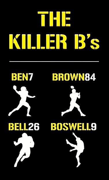 The.      Steelers'.  Killer.         Bees