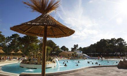 Groupon Voyages à Vendays Montalivet : Camping 5* en Aquitaine: #VENDAYSMONTALIVET En promotion à 199€. Camping avec un parc aquatique de…