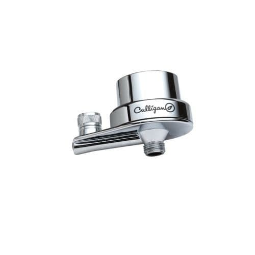 Culligan ISH-200C Level 2 Bacteriostatic In-Line Shower Filter with Clamshell Casing, Grey chrome