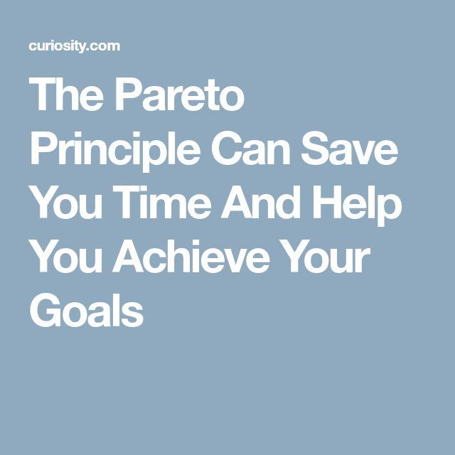 Best  Pareto Principle Ideas On     Principle M