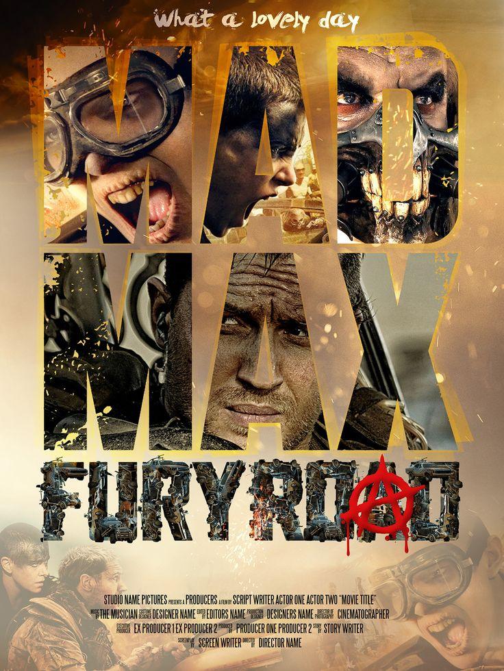 madmax fury road 2015 artwork
