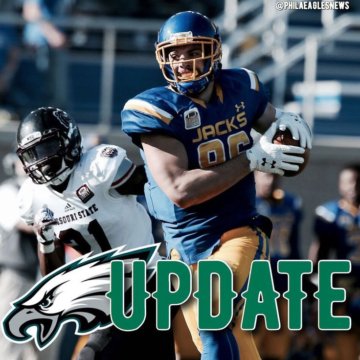 The Eagles have a meeting scheduled with South Dakota TE Dallas Goedert tonight. Goedert is one of the best tight ends in this years draft class. The eagles will no doubt be looking for a tight end in the draft with Burton likely leaving due to cap space and Brent Celek could be retiring. Dallas is both good in the slot and outside and he can make amazing catches with his big hands. He finished with 92 Rec 1293 Yds and 11 Tds last season.  #FlyEaglesFly  #EaglesNation Sixers Fans > Follow my…