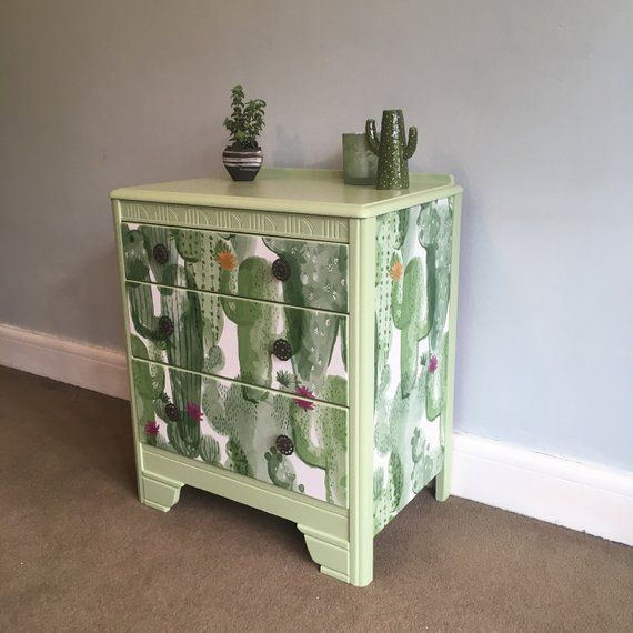 Your Place To Buy And Sell All Things Handmade Small Chest Of Drawers Decoupage Drawers Hand Painted Furniture