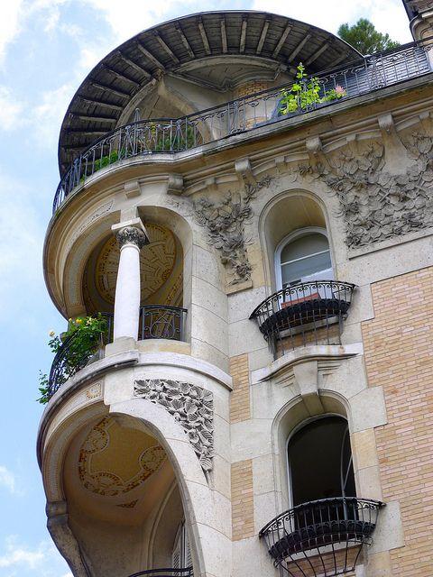 Paris - 21 Voie Georges Pompidou,16ème arrondissement via Flickr