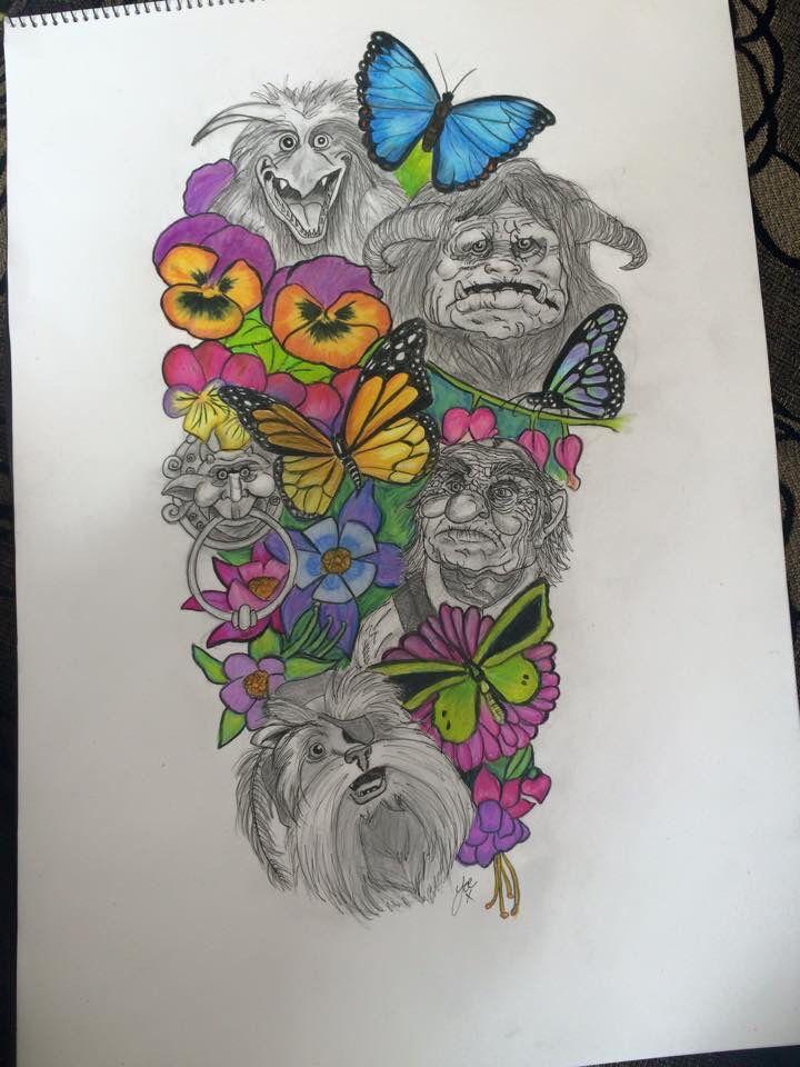 25+ best ideas about Labyrinth Tattoo on Pinterest   Owl ... Labyrinth Owl Tattoo